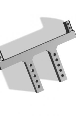 Задние стойки крепления кузова