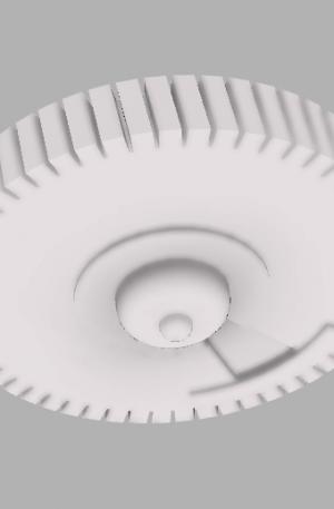 Шестерня для дворников 3D модель